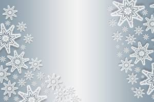 Pictures Texture New year Snowflakes