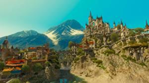 Fotos The Witcher 3: Wild Hunt Tussent computerspiel Städte 3D-Grafik