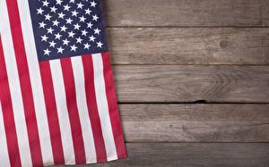 Fotos Vereinigte Staaten Flagge Bretter