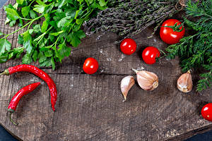 Hintergrundbilder Gemüse Tomate Chili Pfeffer Knoblauch Dill Lebensmittel