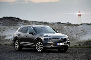 Pictures Volkswagen Grey 2019 Touareg V8 TDI Worldwide automobile