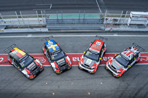 Images Volkswagen Tuning From above 2018-19 Golf GTI TCR (Typ 5G) Cars