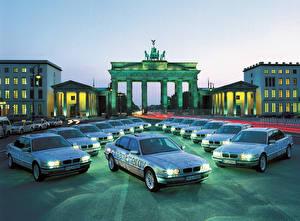Bakgrundsbilder på skrivbordet BMW Många 2000 750hL CleanEnergy Concept bil