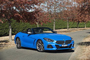 Pictures BMW Z4 BMW Cabriolet Light Blue 2019 Z4 M40i Cars
