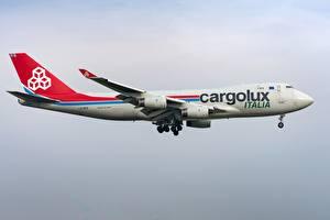 Fotos Boeing Verkehrsflugzeug Seitlich 747-400F