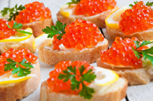 Pictures Caviar Butterbrot Bread
