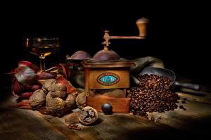 Bilder Kaffee Walnuss Kaffeemühle Das Essen Lebensmittel
