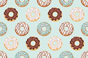 Bilder Donut Textur