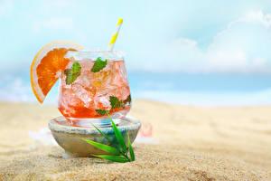 Fotos Getränke Orange Frucht Cocktail Trinkglas das Essen