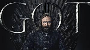 Bureaubladachtergronden Game of Thrones Mannen Bebaarde Een troon Rory McCann, Sandor Clegane Hound film