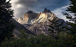 Fotos Gebirge Chile Patagonia, Torres del Paine Natur