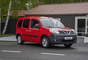 Desktop hintergrundbilder Nissan Rot 2019 NV250 Combi auto