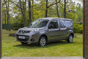Bilder Nissan Graues Metallisch 2019 NV250 L2 Van auto