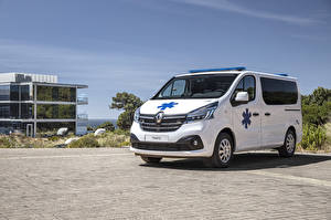 Pictures Renault White Metallic 2019 Trafic Ambulance Worldwide automobile