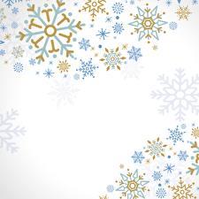 Fotos Textur Schneeflocken Weißer hintergrund