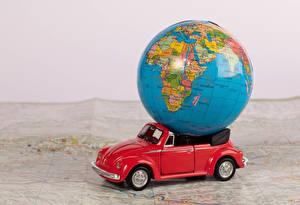 Bilder Spielzeuge Cabrio Globus