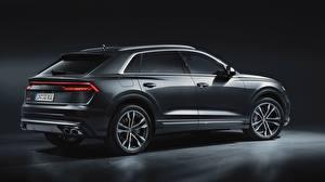 Fondos de escritorio Audi Gris sq8 2020 autos