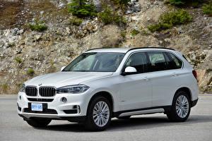 Fotos BMW Weiß 2013-18 X5 xDrive50i Worldwide Autos