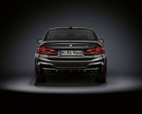Picture BMW Back view M5 F90 2019 Edition 35 Years Cars