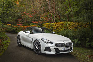 Wallpaper BMW Z4 BMW White 2019 sDrive20i M Sport automobile