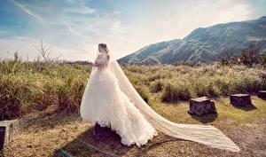 Fotos & Bilder Braut Kleid Mädchens