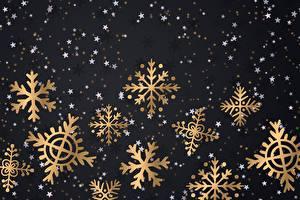 Fotos Neujahr Schneeflocken