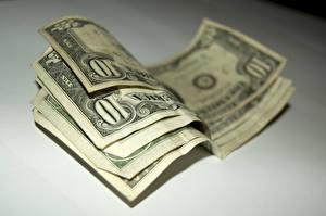Fotos & Bilder Großansicht Banknoten Geld Dollars Bokeh 10 Lebensmittel