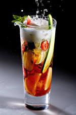 Wallpapers Cocktail Fruit Highball glass Foam Food