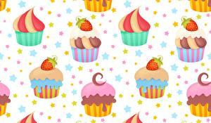 Photo Cupcake Texture Food