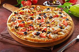 Fotos Fast food Pizza Oliven