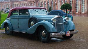 Fotos Maybach Retro Hellblau Metallisch 1939 SW 42 auto