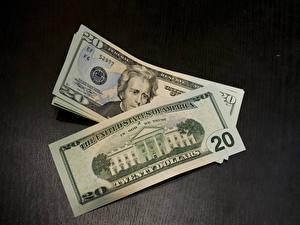 Fotos & Bilder Geld Banknoten Dollars Großansicht 20 Autos