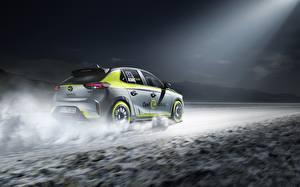 Sfondi desktop Opel Corsa 2020 electric rally car