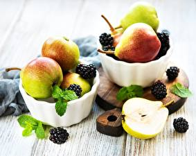 Wallpapers Pears Blackberry Bowl