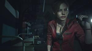 Fotos Resident Evil 2 2019 Claire redfield Spiele Mädchens 3D-Grafik