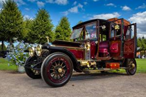 Fotos & Bilder Rolls-Royce Retro Bordeauxrot 1913 Silver Ghost Autos