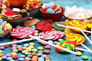 Fotos Süßware Dauerlutscher Bonbon Dragee Lebensmittel