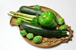 Bilder Gemüse Paprika Zucchini Grün