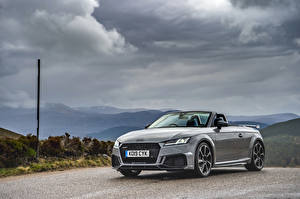 Fotos Audi Graues Roadster 2019 TT RS Autos