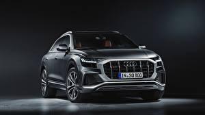 Bilder Audi Graues sq8 2020 automobil