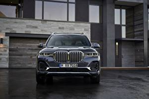 Wallpaper BMW Front CUV 2019 X7 G07 automobile