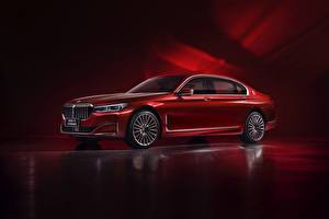 Pictures BMW Red Metallic G12, 7-series, 2019 Cars