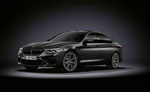 Sfondi desktop BMW Nero M5, F90, 2019, Edition 35 Years Auto