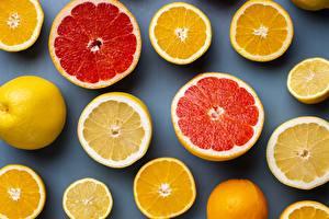 Pictures Citrus Orange fruit Grapefruit Lemons