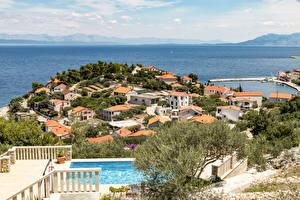 Photo Croatia Houses Prigradica Cities