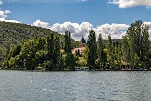 Fotos Kroatien Parks See Bäume Krka National Park Natur