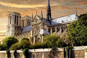 Fotos Frankreich Tempel Paris Alt Notre-Dame de Paris Städte