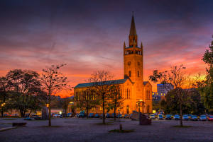 Images Germany Berlin Temple Sunrises and sunsets Church