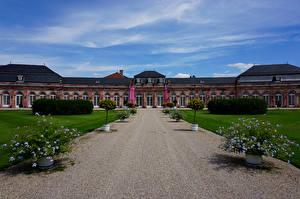 Hintergrundbilder Deutschland Palast Rasen Schwetzingen Palace Städte