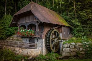 Bilder Gebäude Wassermühle